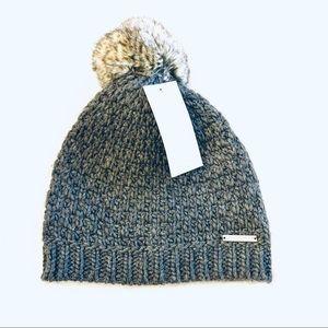 Michael Kors Knit Beanie Pom Pom Hat